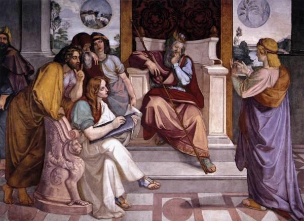 Joseph Interpreting Pharaohs Dream
